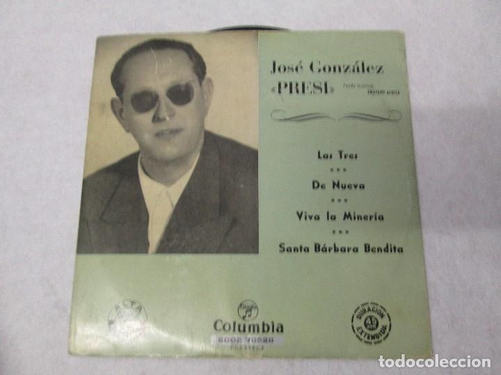 Discos de vinilo: JOSE GONZALEZ. PRESI. DISCO DE VINILO Y GRABACIONES DE MICROSURCO. COLUMBIA. VER FOTOGRAFIAS ADJUNTA - Foto 2 - 74997575