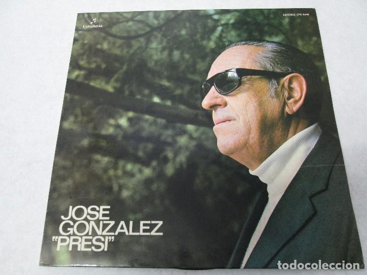 Discos de vinilo: JOSE GONZALEZ. PRESI. DISCO DE VINILO Y GRABACIONES DE MICROSURCO. COLUMBIA. VER FOTOGRAFIAS ADJUNTA - Foto 6 - 74997575