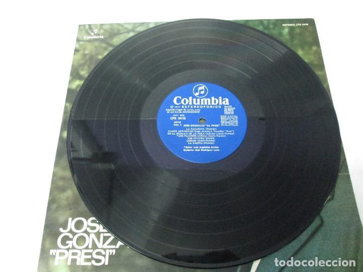 Discos de vinilo: JOSE GONZALEZ. PRESI. DISCO DE VINILO Y GRABACIONES DE MICROSURCO. COLUMBIA. VER FOTOGRAFIAS ADJUNTA - Foto 7 - 74997575