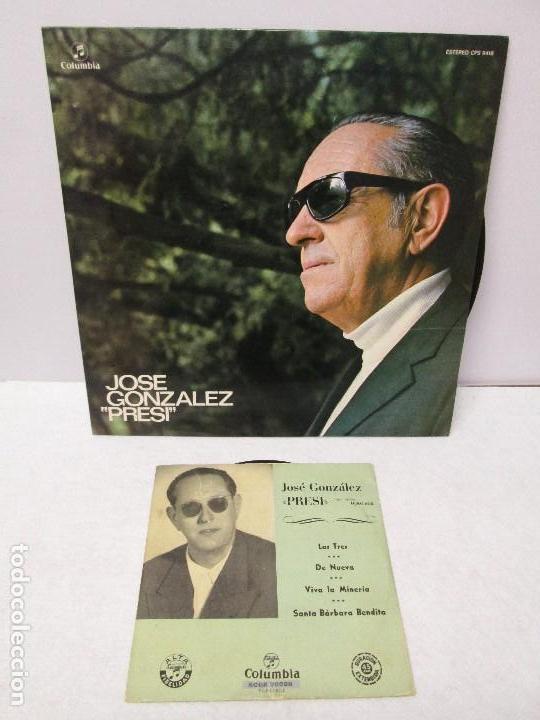 JOSE GONZALEZ. PRESI. DISCO DE VINILO Y GRABACIONES DE MICROSURCO. COLUMBIA. VER FOTOGRAFIAS ADJUNTA (Música - Discos - Singles Vinilo - Clásica, Ópera, Zarzuela y Marchas)
