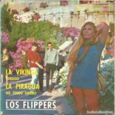 Discos de vinilo: LOS FLIPPERS - LA VIKINGA + 3 (EP DE 4 CANCIONES) RCA 1964 - VG++/VG++. Lote 75017551