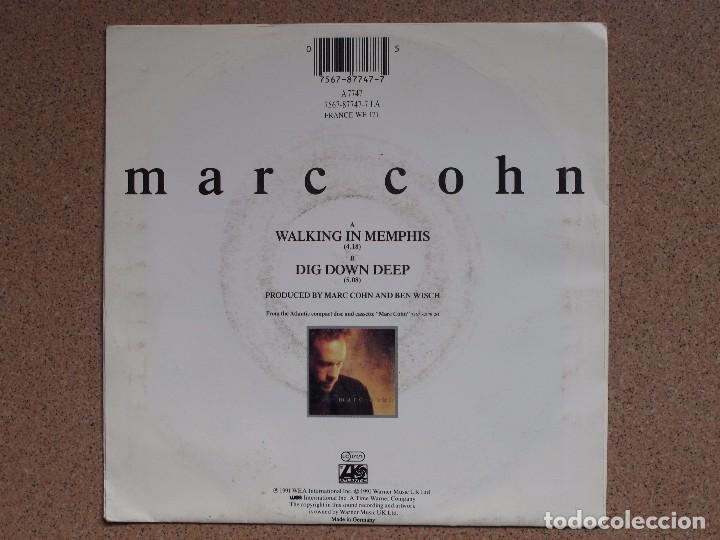 Discos de vinilo: MARC COHN - WALKING IN MENPHIS + DIG DOWN DEEP - Foto 2 - 75020503