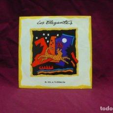Discos de vinilo: LOS ELEGANTES, EL SOL A TU ESPALDA, DEL 1991.. Lote 75053411