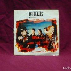 Discos de vinilo: LOS REBELDES, TU MANO EN MI MANO, PROMO, DEL 1991. Lote 75054799