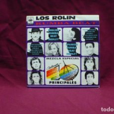 Discos de vinilo: LOS ROLIN, SPANISH RUMBA BEAT, ENGLISH RUMBA BEAT, PROMO, DEL 1991. Lote 75055223
