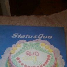 Discos de vinilo: STATUS QUO QUO CAKE MIX MAXI SINGLE. Lote 75060797