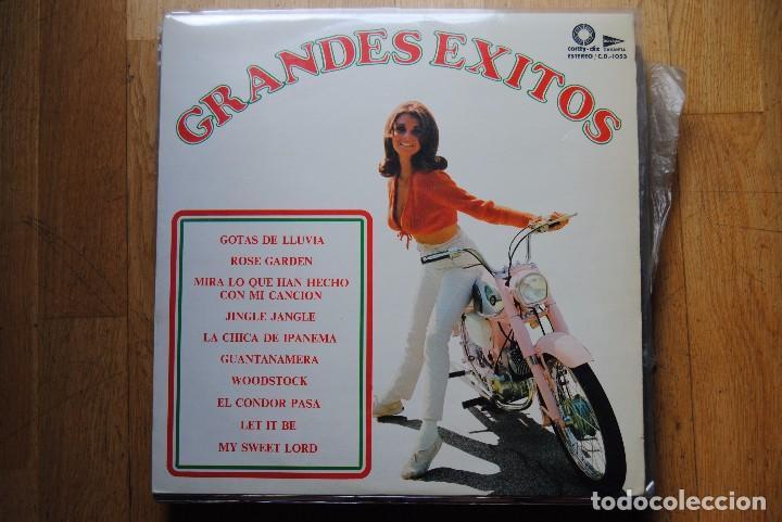 GRANDES EXITOS. CORTY DISC. 1974. LP. SEXY COVER (Música - Discos - LP Vinilo - Grupos Españoles de los 70 y 80)