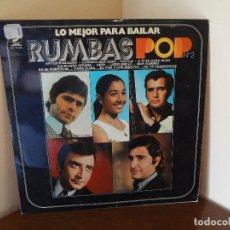 Discos de vinilo: DISCO - LP RUMBAS POP N*2 LO MEJOR PARA BAILAR 1972.. Lote 75075339