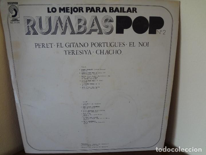 Discos de vinilo: Disco - LP RUMBAS POP N*2 lo mejor para bailar 1972. - Foto 2 - 75075339