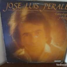 Discos de vinilo: DISCO -LP- VINILO JOSE LUIS PERALES ,ENTRE EL AGUA Y EL FUEGO. Lote 75076839
