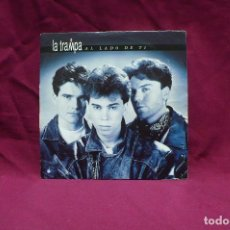 Discos de vinilo: LA TRAMPA, AL LADO DE TI, PROMO, DEL 1992.. Lote 75079335