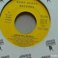 Discos de vinilo: AMOS DEL MUNDO, JUNTO A MI LO ENCONTRARAS, PROMO DEL 1991.. Lote 75079699