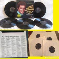 Discos de vinilo: ELVIS PRESLEY STORY - RARA CAJA 5 LPS, 60 TEMAS, ORG EDTI USA 1977 RCA, TODO EXC. Lote 58601810