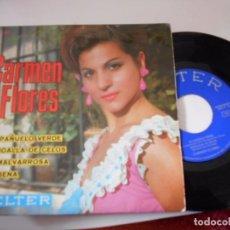 Discos de vinilo: CARMEN FLORES-EP TU PAÑUELO VERDE +3 1967. Lote 75095091