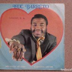 Discos de vinilo: LUC BARRETO - MIRANDO AL MAR + CAMINO VERDE. Lote 75097035