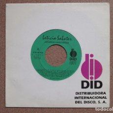 Discos de vinilo: LETICIA SABATER - LAS CHICAS SOMOS TOTALES. Lote 75099979
