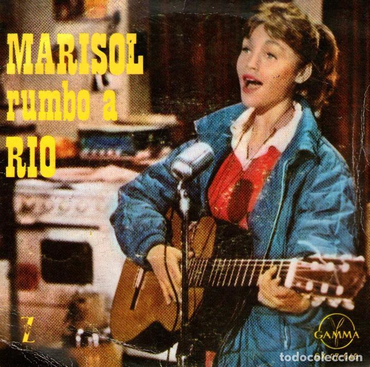 MARISOL - EP RUMBO A RÍO - VINILO 7'' - MUCHACHITA + 3 - EDITADO EN MÉXICO - GAMMA (Música - Discos de Vinilo - EPs - Solistas Españoles de los 70 a la actualidad)