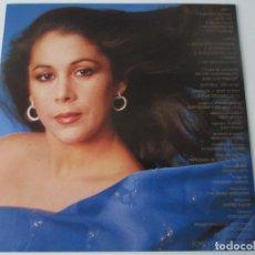 Discos de vinilo: ISABEL PANTOJA - CARPETA DURA INTERIOR DEL LP MARINERO DE LUCES 1985 SPAIN. Lote 51130215
