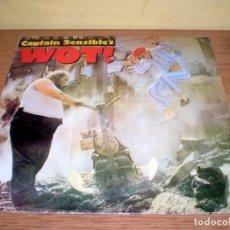 Discos de vinilo: CAPTAIN SENSIBLE'S - WOT' - A&M RECORDS 1982. Lote 75121047