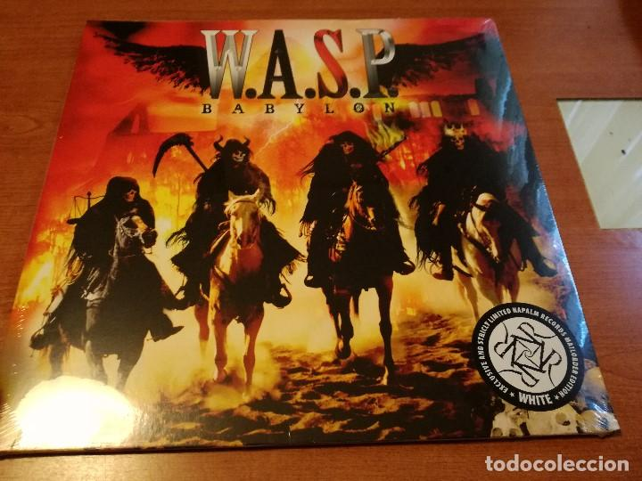 W.A.S.P. - BABYLON LP GATEFOLD WHITE VINYL NPR 602 VINYL AUSTRIA 2016 WASP (Música - Discos - LP Vinilo - Heavy - Metal)