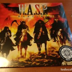 Discos de vinilo: W.A.S.P. - BABYLON LP GATEFOLD WHITE VINYL NPR 602 VINYL AUSTRIA 2016 WASP. Lote 75128171