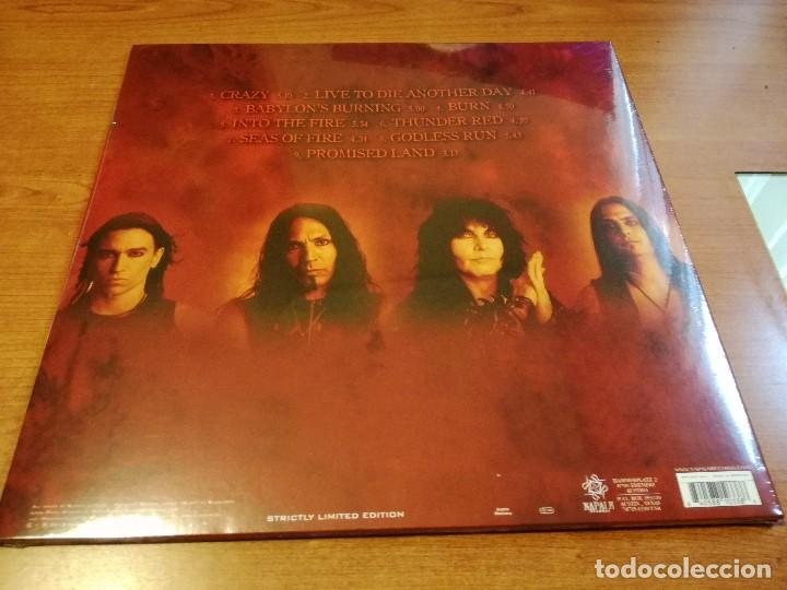 Discos de vinilo: W.A.S.P. - Babylon LP Gatefold White Vinyl NPR 602 VINYL AUSTRIA 2016 WASP - Foto 3 - 75128171