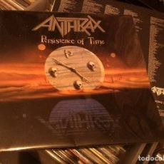 Discos de vinilo: ANTHRAX - PERSISTENCE OF TIME (LP, ALBUM) 1990 SPAIN . Lote 75144651