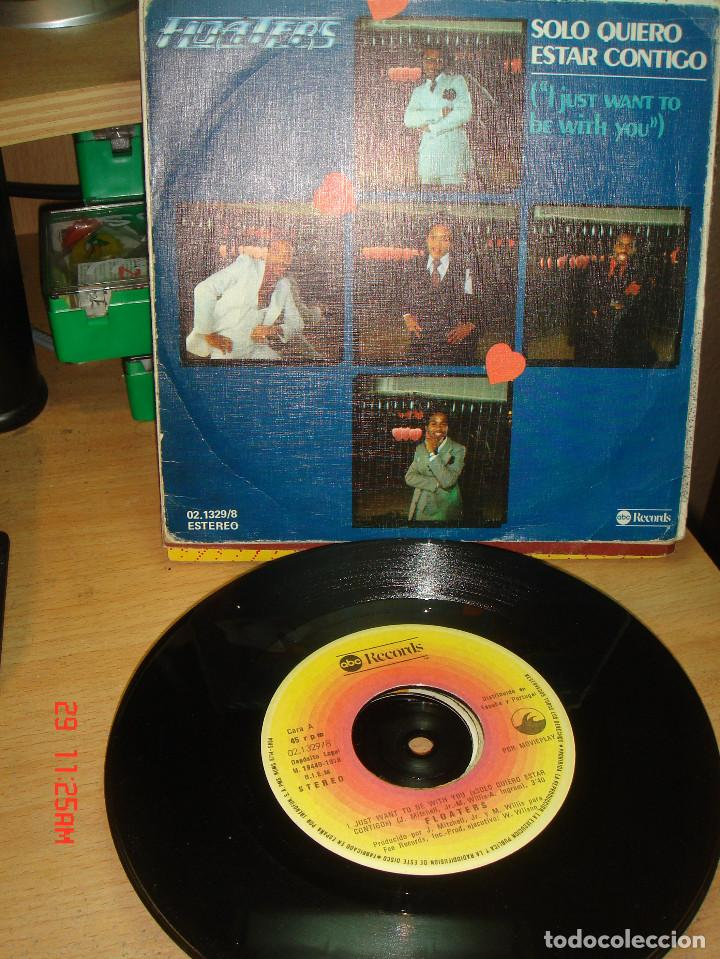 FLOATERS - I JUST WANT TO BE WITH YOU / WHAT EVER YOUR SIGN - SINGLE 1978 (Música - Discos - Singles Vinilo - Pop - Rock - Extranjero de los 70)
