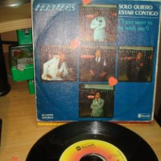 Discos de vinilo: FLOATERS - I JUST WANT TO BE WITH YOU / WHAT EVER YOUR SIGN - SINGLE 1978. Lote 75163291