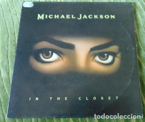 MICHAEL JACKSON - IN THE CLOSET - SINGLE PROMO (Música - Discos - Singles Vinilo - Pop - Rock Extranjero de los 90 a la actualidad)