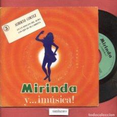 Discos de vinilo: DISCO SINGLE VINILO ALBERTO CORTEZ MIRINDA Y MUSICA Nº3 EN UN RINCON DEL ALMA DCL 073. Lote 75195403
