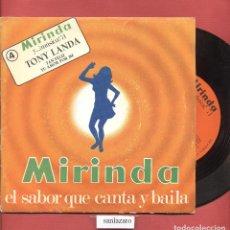 Discos de vinilo: DISCO SINGLE VINILO TONY LANDA MIRINDA EL SABOR QUE CANTA Y BAILA Nº4 TU AMOR POR MI DCL 085. Lote 75201535