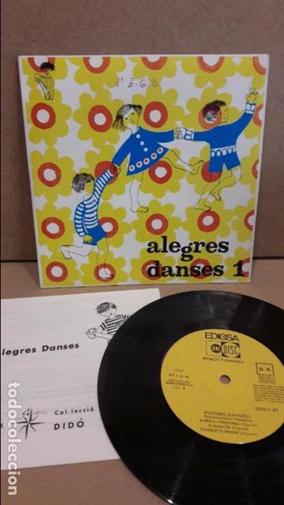 ORQUESTA HENRI VEYSSEYRE. ALEGRES DANSES 1. EP / EDIGSA - 1969 / MBC. ***/*** (Música - Discos de Vinilo - EPs - Country y Folk)