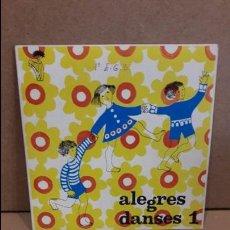 Discos de vinilo: ORQUESTA HENRI VEYSSEYRE. ALEGRES DANSES 1. EP / EDIGSA - 1969 / MBC. ***/***. Lote 75207615