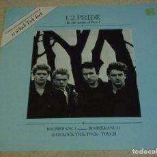Discos de vinilo: U2 ( PRIDE - BOOMERANG I - BOOMERANG II - II O'CLOCK TICK TOCK - TOUCH ) ENGLAND-1984 MAXI45 ISLAND. Lote 156899524