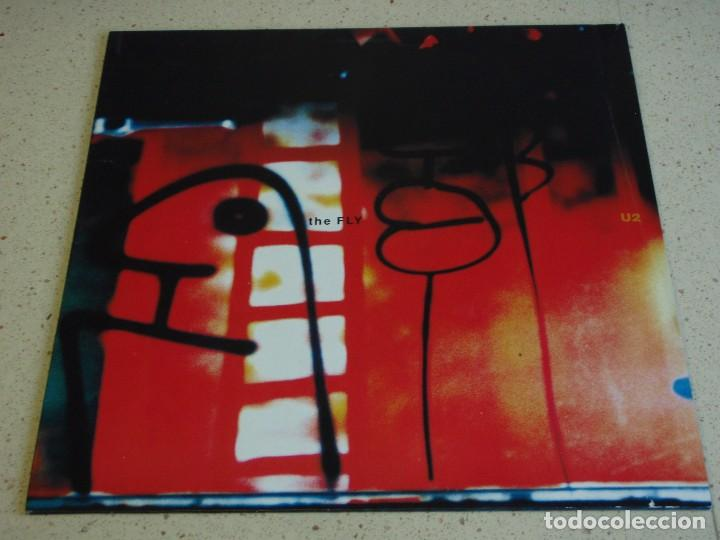 U2 ( THE FLY - ALEX DESCENDS INTO HELL FOR A BOTTLE OFMILK/KOROVA 1 - THE LOUNGE FLY MIX ) 1991 (Música - Discos de Vinilo - Maxi Singles - Pop - Rock Extranjero de los 90 a la actualidad)