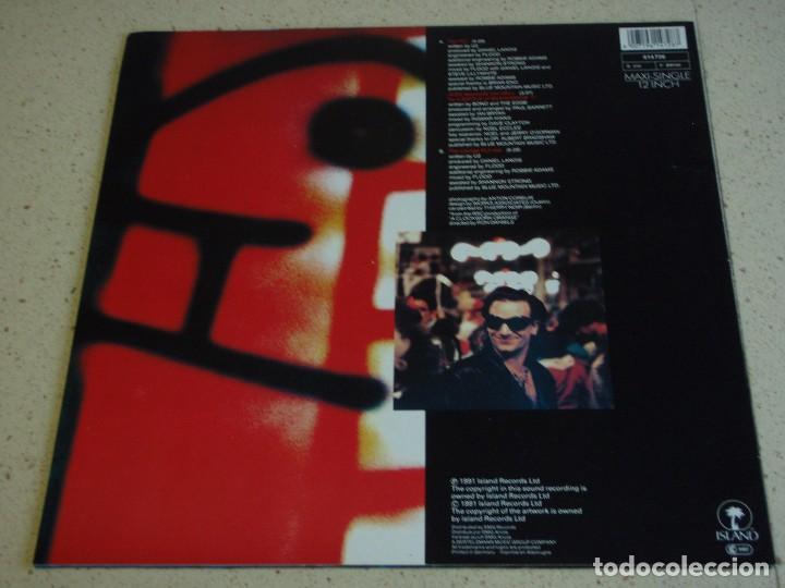 Discos de vinilo: U2 ( THE FLY - ALEX DESCENDS INTO HELL FOR A BOTTLE OFMILK/KOROVA 1 - THE LOUNGE FLY MIX ) 1991 - Foto 2 - 75214487