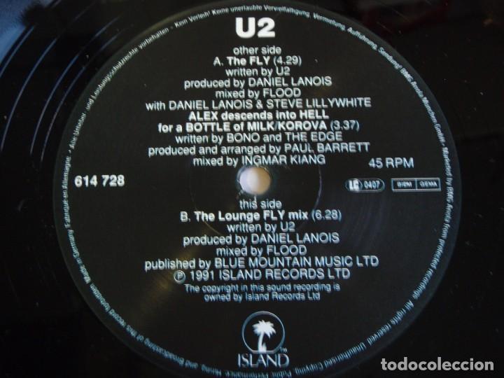Discos de vinilo: U2 ( THE FLY - ALEX DESCENDS INTO HELL FOR A BOTTLE OFMILK/KOROVA 1 - THE LOUNGE FLY MIX ) 1991 - Foto 3 - 75214487