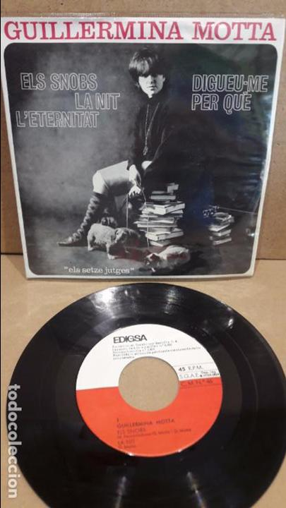GUILLERMINA MOTTA. ELS SNOBS. EP / EDIGSA - 1964 / MBC. ***/*** (Música - Discos de Vinilo - EPs - Otros estilos)