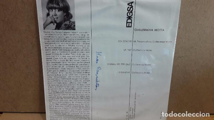 Discos de vinilo: GUILLERMINA MOTTA. ELS SNOBS. EP / EDIGSA - 1964 / MBC. ***/*** - Foto 2 - 75215571