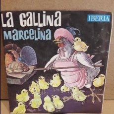 Discos de vinilo: LA GALLINA MARCELINA. SINGLE OBSEQUIO SKIP / IBERIA - 1964 / MBC. ***/***. Lote 75224835