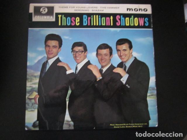 THE SHADOWS - THOSE BRILLIANT SHADOWS - EP - EDICION INGLESA. (Música - Discos de Vinilo - EPs - Pop - Rock Internacional de los 50 y 60)
