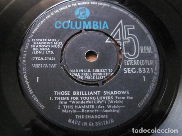 Discos de vinilo: THE SHADOWS - THOSE BRILLIANT SHADOWS - EP - EDICION INGLESA. - Foto 3 - 75228495