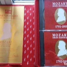 Discos de vinilo: COLECCIÓN CDS MOZART. Lote 75245615