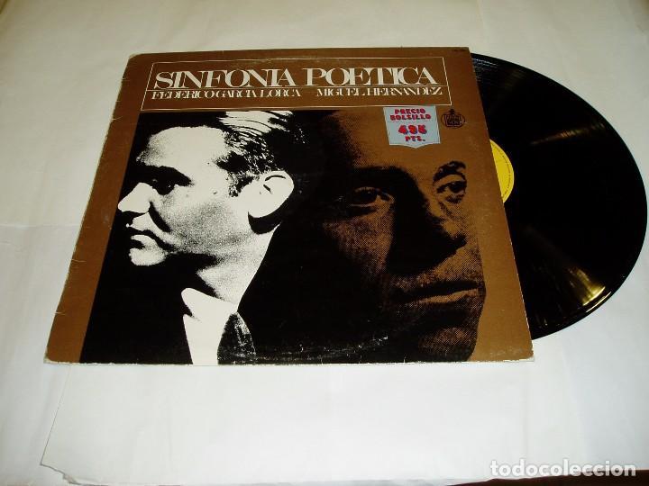 LP SINFONÍA POÉTICA DE FEDERICO GARCIA LORCA 1983 (Música - Discos - LP Vinilo - Clásica, Ópera, Zarzuela y Marchas)