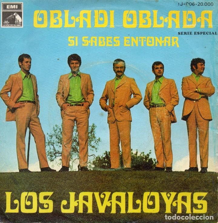 JAVALOYAS, SG, OBLADI OBLADA + 1, AÑO 1968 (Música - Discos - Singles Vinilo - Grupos Españoles 50 y 60)