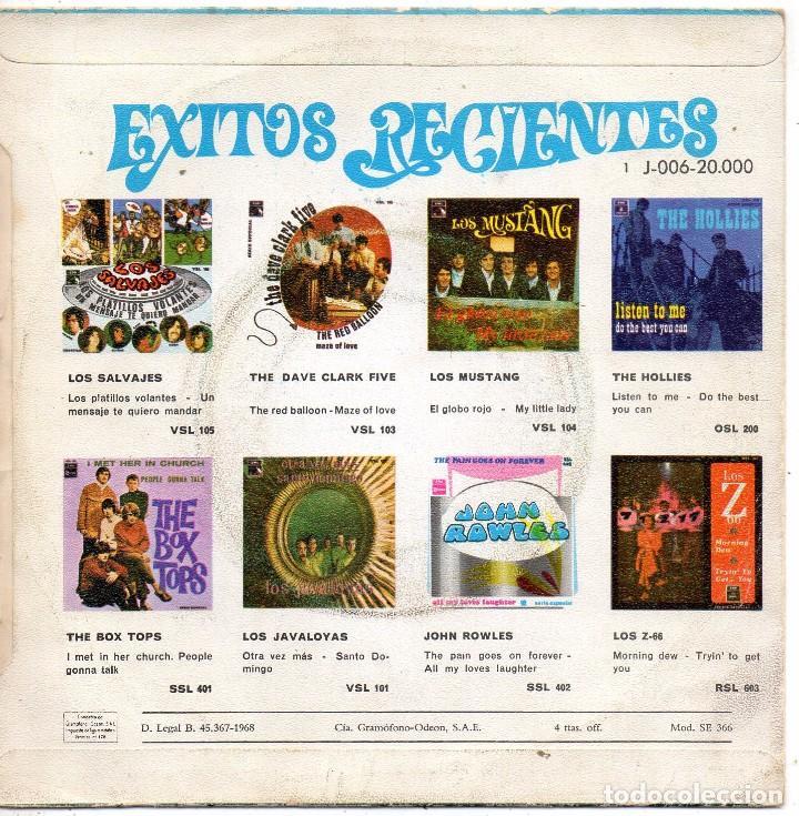 Discos de vinilo: JAVALOYAS, SG, OBLADI OBLADA + 1, AÑO 1968 - Foto 2 - 75279615