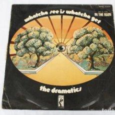 Discos de vinilo: DISCO VINILO LP - THE DRAMATICS - WHATCHA SEE IS WHATCHA GET. Lote 75297207