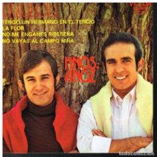 Discos de vinilo: HERMANOS ANOZ - TENGO UN HERMANO EN EL TERCIO / NO ME ENGAÑES RIBEREÑA +2 - EP 1972 - BUEN ESTADO. Lote 75300235