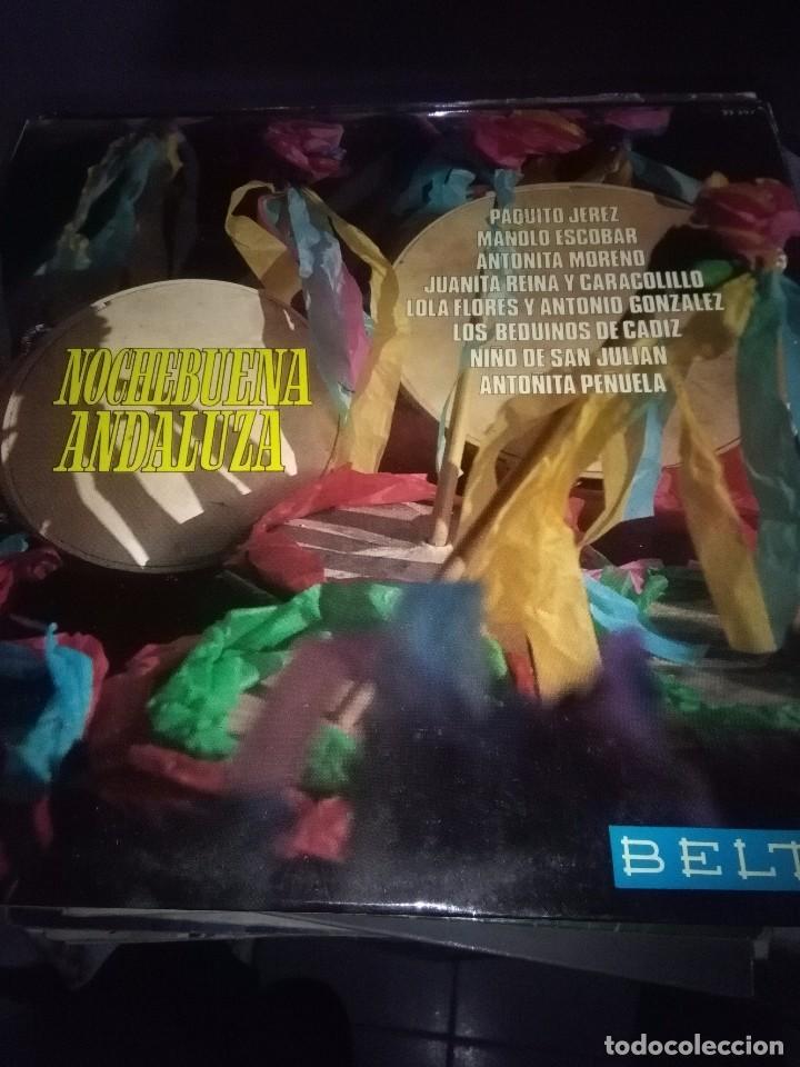 NOCHEBUENA ANDALUZA. C9V (Música - Discos - LP Vinilo - Flamenco, Canción española y Cuplé)